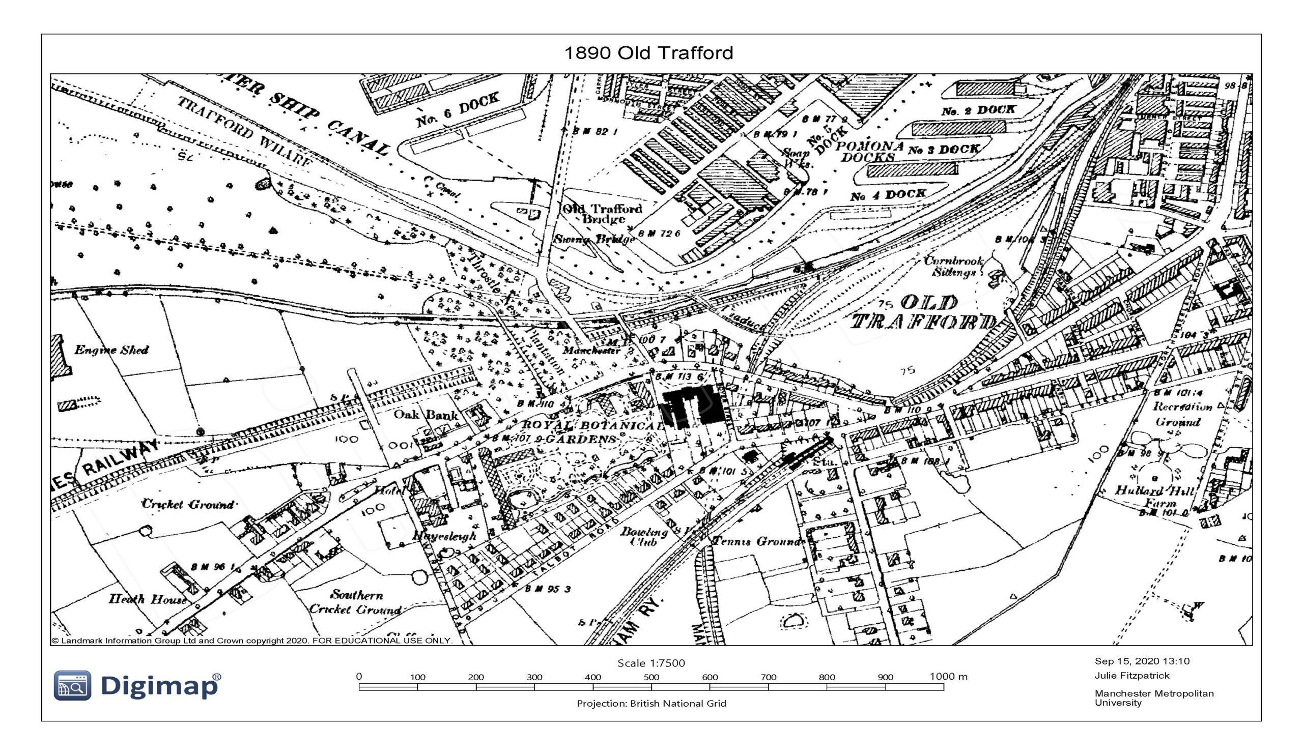 1890 Old Trafford