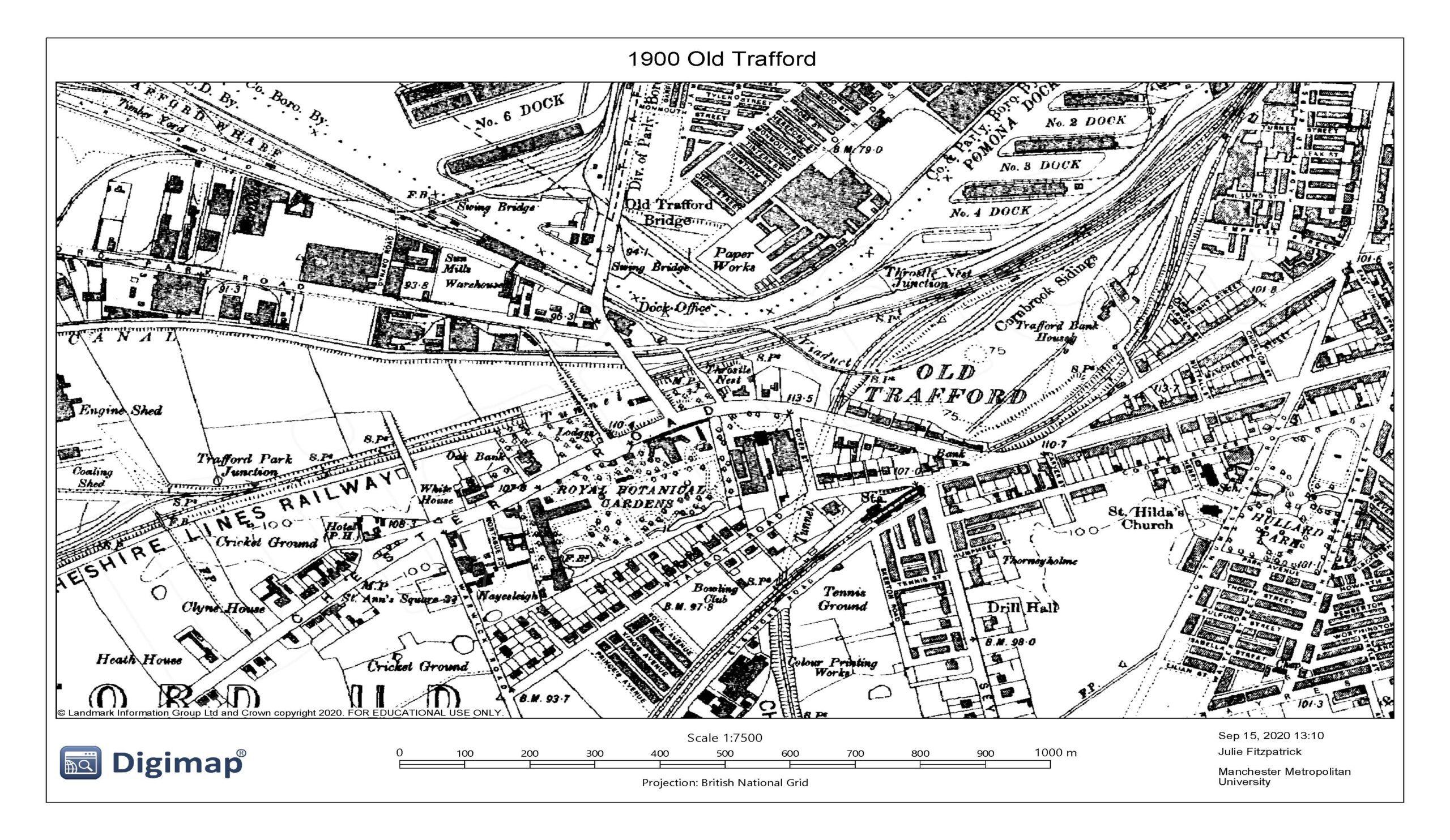 1900 Old Trafford