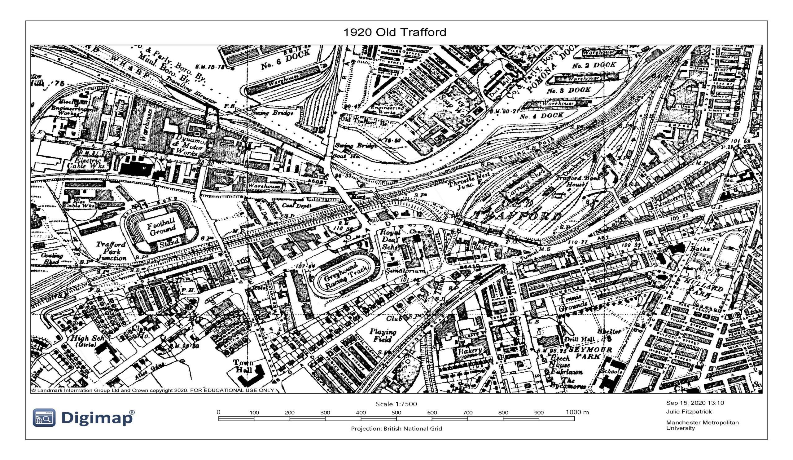 1920 Old Trafford