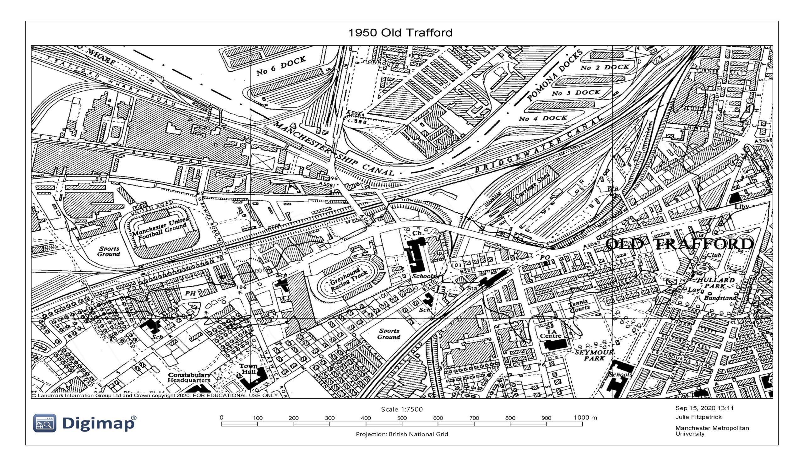 1950 Old Trafford