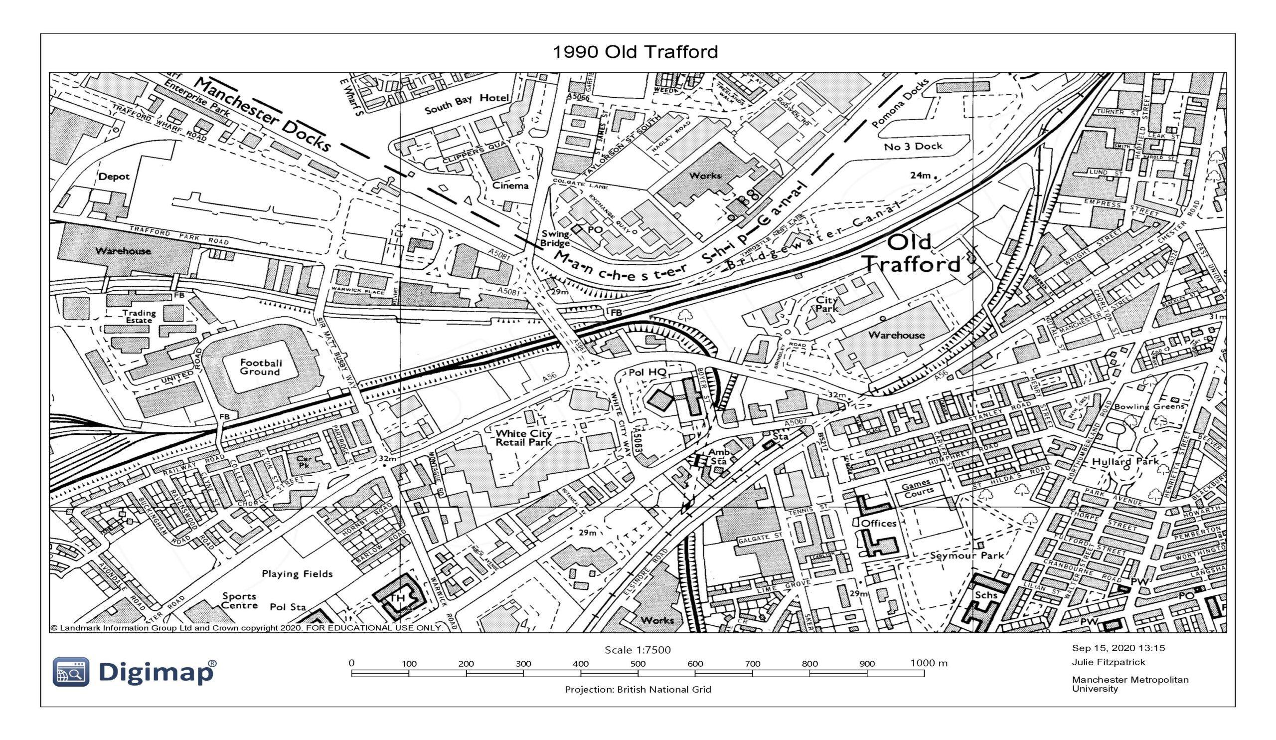 1990 Old Trafford